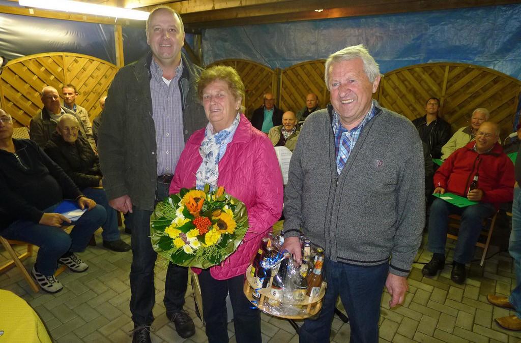 Ständchen zum 80. Geburtstag von Horst Wiesner