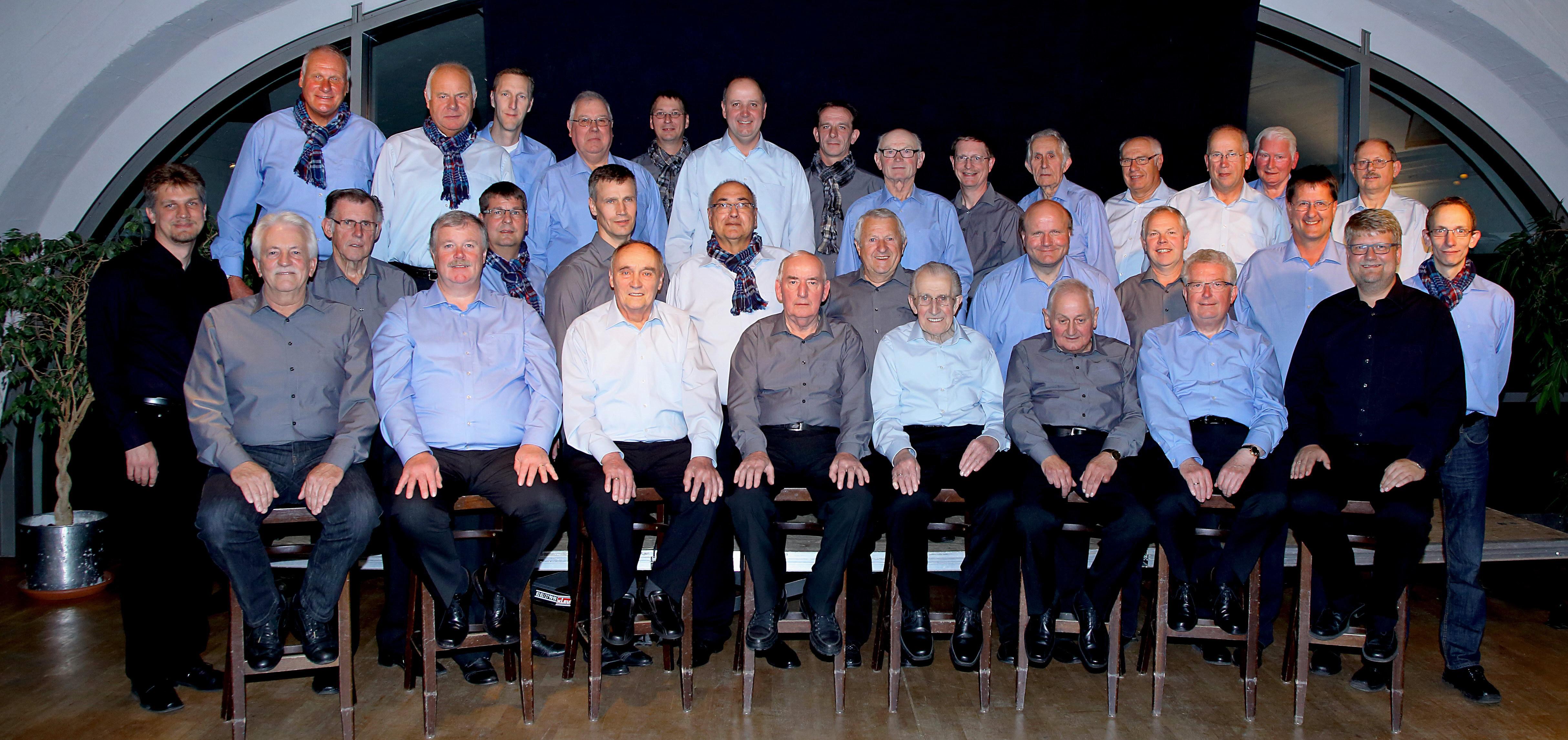 Der Männerchor im Herbst 2013