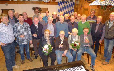 Dankeschön-Chorprobe der Sängerjubilare