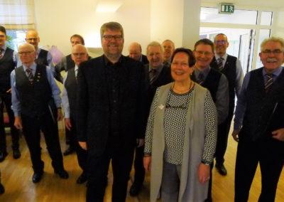 05 Harmonischer Ausklang und Dank von Karin Pietig an den Chor