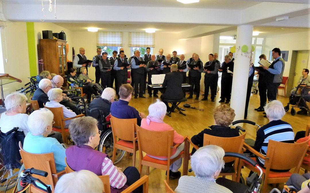 Sonntags-Ständchen im Seniorenzentrum Gempt