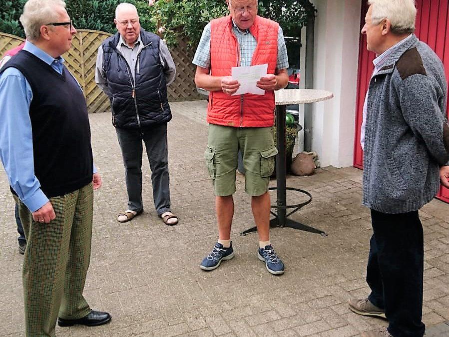 Gratulation für Horst Wiesner zum 85. Geburtstag