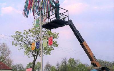 28. Setteler Maibaum grüßt auch 2021