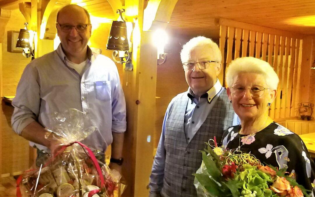 Ständchen zur Goldhochzeit Hans-Walter und Bärbel Riesenbeck