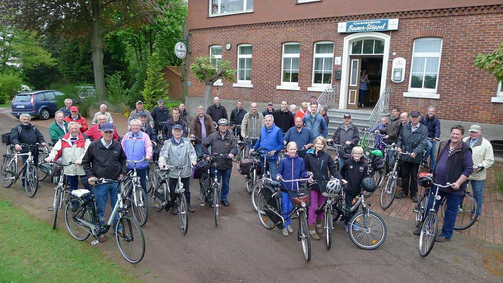 "Die Himmelfahrts-Fahrradtour, …. ja das ist ""Vaters Tag"""